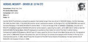 NASCAR HOF Inductee